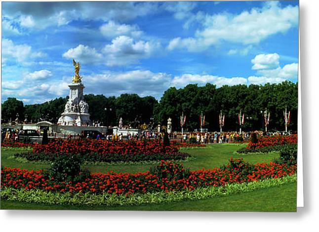 Queen Victoria Memorial At Buckingham Greeting Card