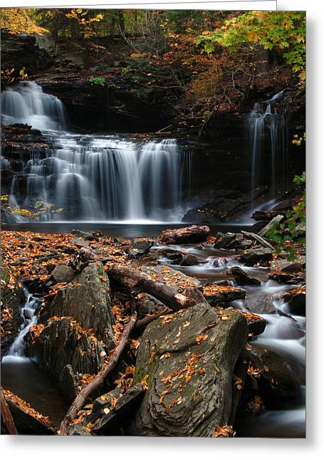 R. B. Ricketts Falls Greeting Card by Dan Myers