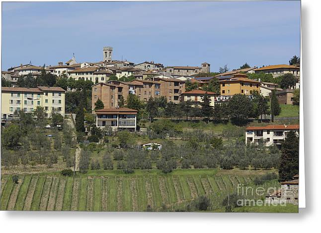 Radda In Chianti Greeting Card by Chris Selby