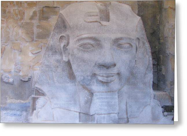Ramses II Greeting Card by Vikram Singh