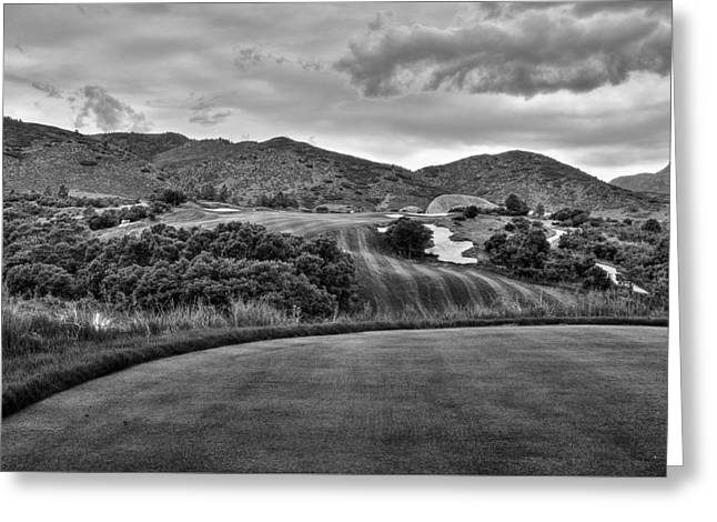 Greeting Card featuring the photograph Ravenna Golf Course by Ron White