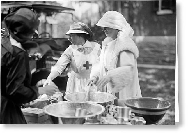 Red Cross, 1917 Greeting Card