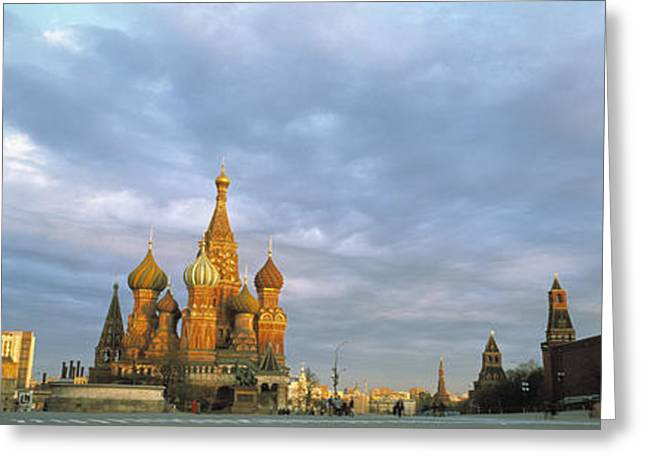 Red Square Moscow Russia Greeting Card