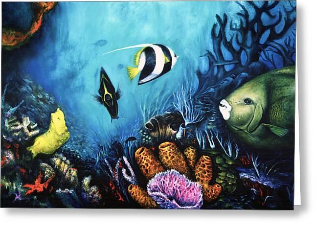 Reef Dwellers Greeting Card