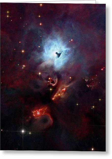 Reflection Nebula Ngc 1999 Greeting Card