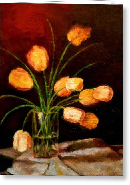 Reflections Greeting Card by Marie Hamby