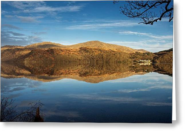 Reflections On Loch Lomond Greeting Card