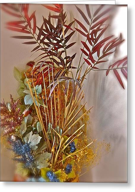 Remnants Of Summer Greeting Card by Randy Rosenberger