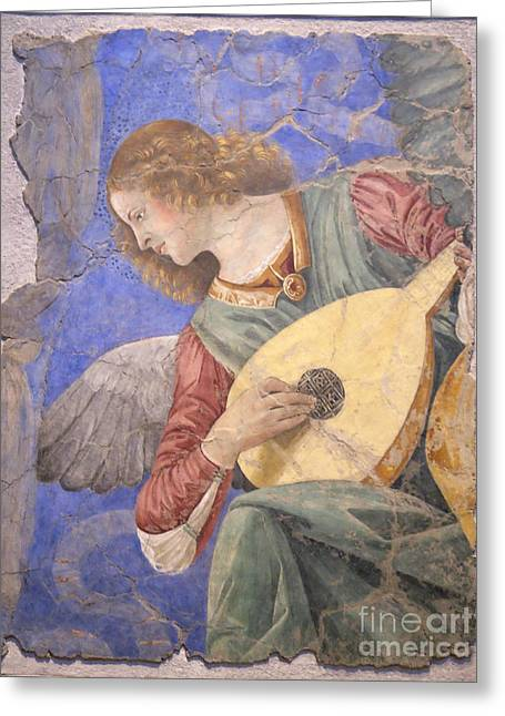 Renaissance Lute Player Greeting Card