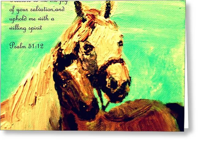 Restoration Greeting Card by Amanda Dinan
