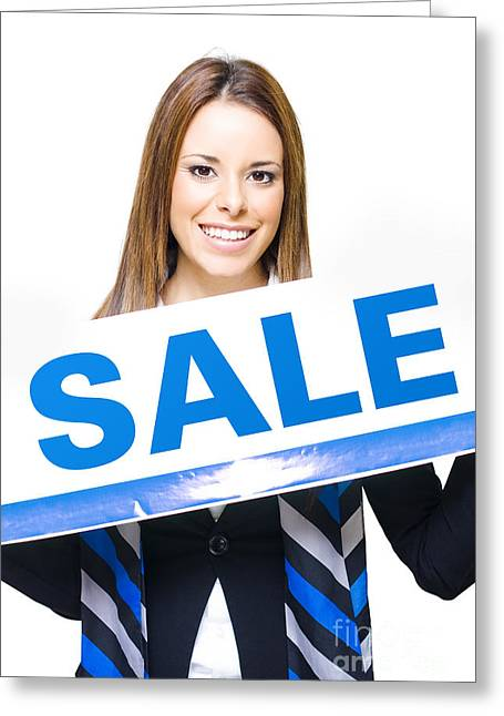Retail Sale Greeting Card