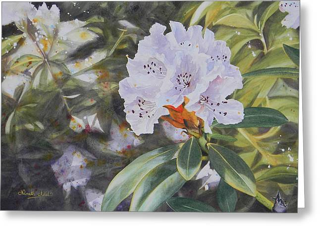 Rhododendron Jungle Greeting Card by Adel Nemeth