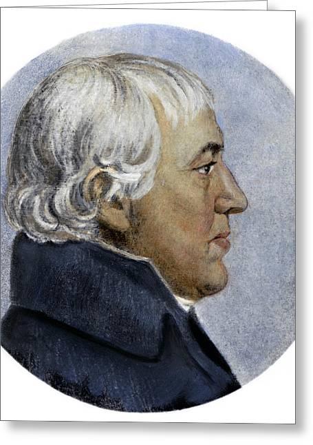 Richard Bassett (1745-1815) Greeting Card by Granger