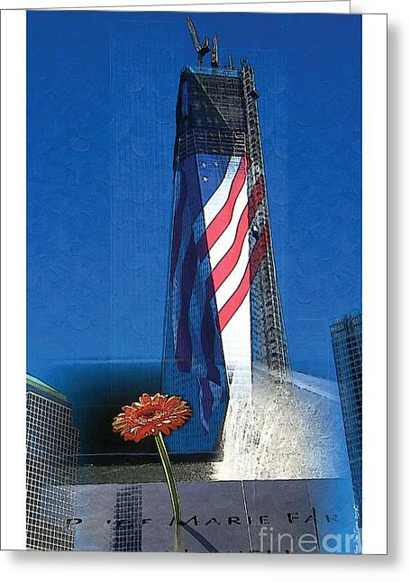Rise Of Freedom 2012 Greeting Card