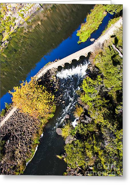 River Walk Greeting Card by Jorgo Photography - Wall Art Gallery