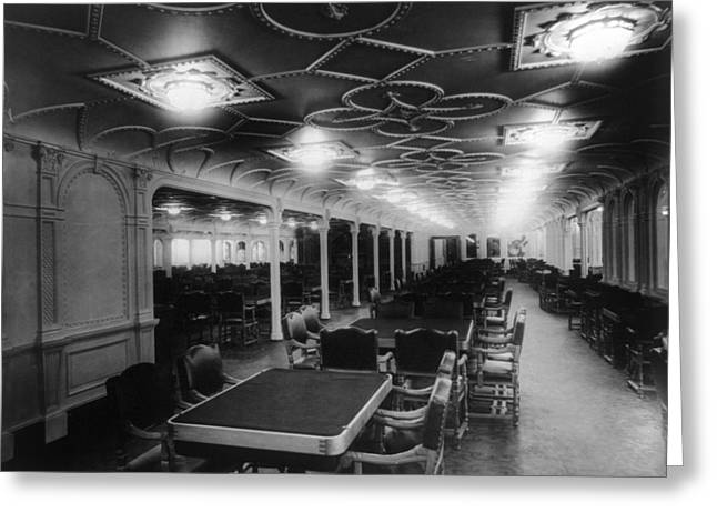 Rms Olympic, C1911 Greeting Card by Granger