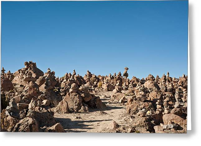 Road From Arequipa To Chivay Greeting Card by Ulrich Schade