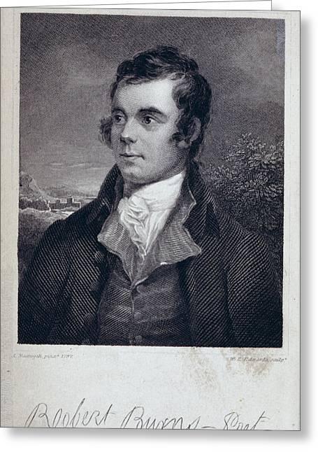 Robert Burns Greeting Card by British Library
