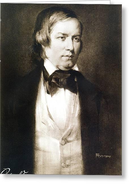 Robert Schumann (1810-1856) Greeting Card