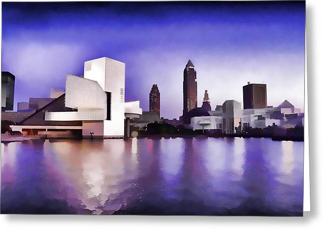 Rock And Roll Hall Of Fame - Cleveland Ohio - 3 Greeting Card
