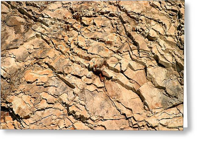 Greeting Card featuring the photograph Rock Wall by Henrik Lehnerer