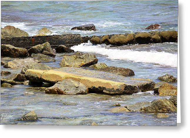 Rocky Beach Greeting Card