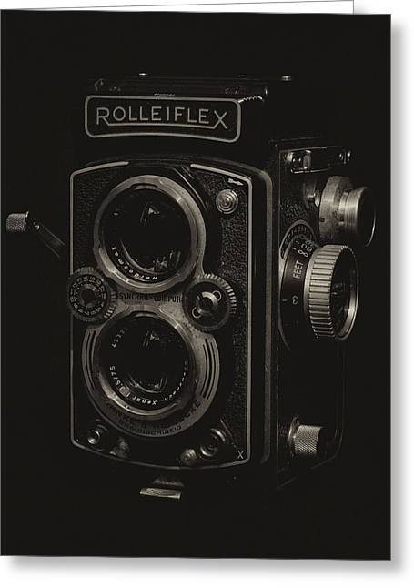 Rolleiflex Greeting Card