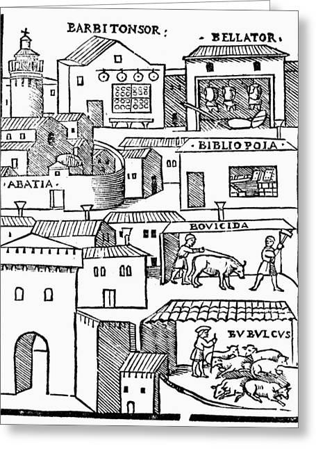 Romberch Memory, 1553 Greeting Card