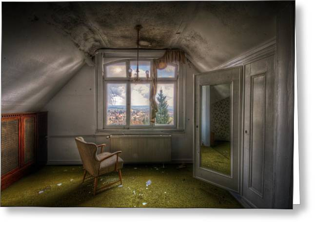 Room With A View Greeting Card by Nathan Wright
