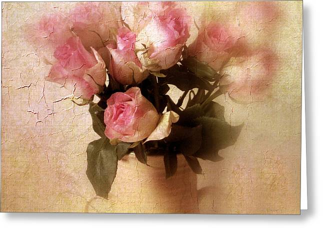 Rose Bouquet Greeting Card by Jessica Jenney