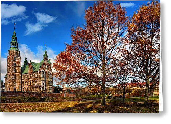 Rosenborg Castle Copenhagen Greeting Card by Carol Japp