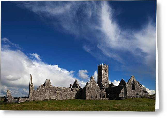 Ross Errilly Franciscan Friary 1351 Greeting Card by Panoramic Images