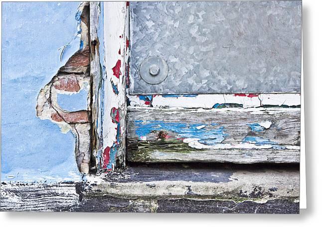 Rotting Wood Greeting Card by Tom Gowanlock