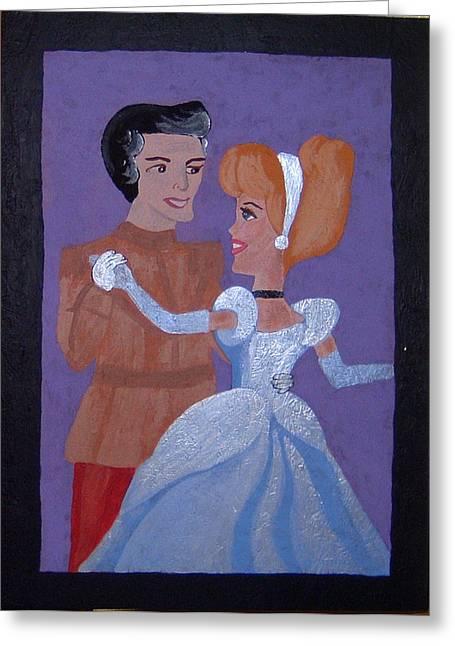 Royal Romantics Greeting Card by Yvonne  Kroupa
