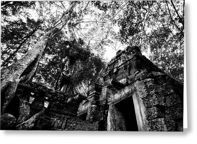 Ruins Greeting Card by Julian Cook