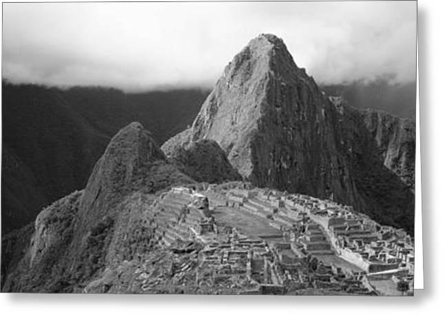 Ruins, Machu Picchu, Peru Greeting Card