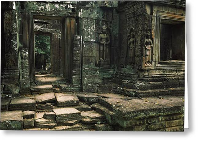 Ruins Of A Temple, Banteay Kdei Greeting Card