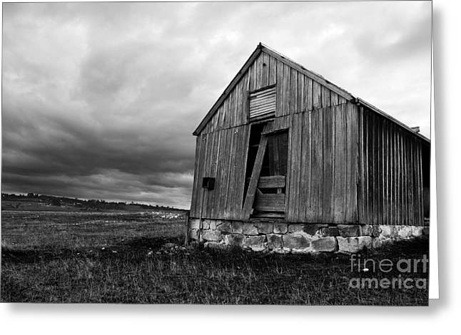 Ruins Of Abandonment Greeting Card by Jorgo Photography - Wall Art Gallery