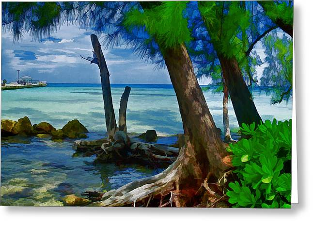 Rum Point Greeting Card