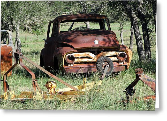 Rust In Peace No. 2 Greeting Card