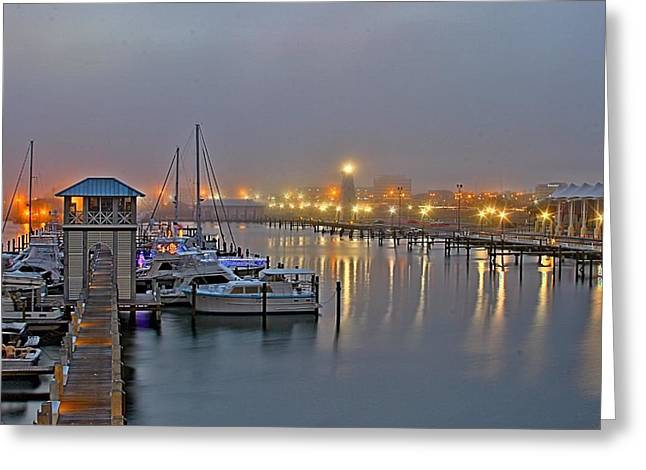 Safe Harbor Greeting Card by Brian Wright