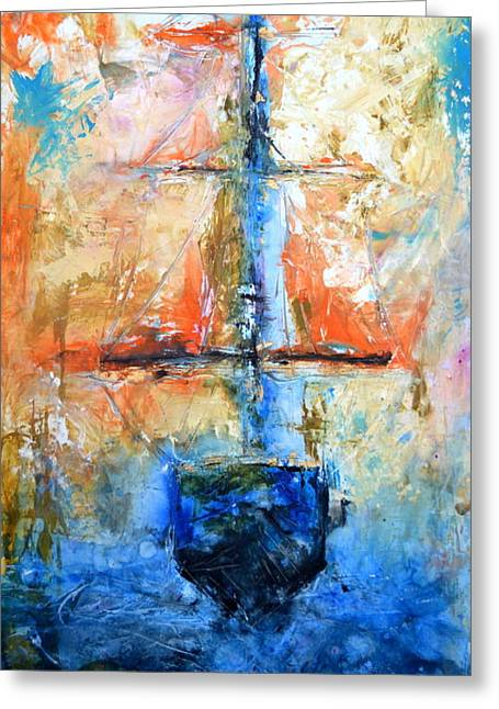 Sail Away With Me Greeting Card