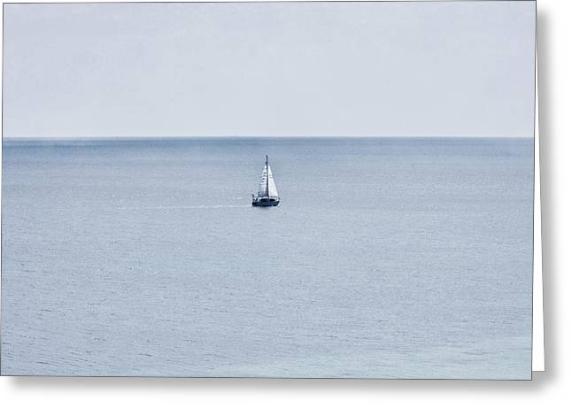 Greeting Card featuring the photograph Sail Away by Zoe Ferrie