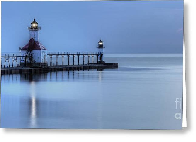 Saint Joseph Michigan Lighthouse Greeting Card