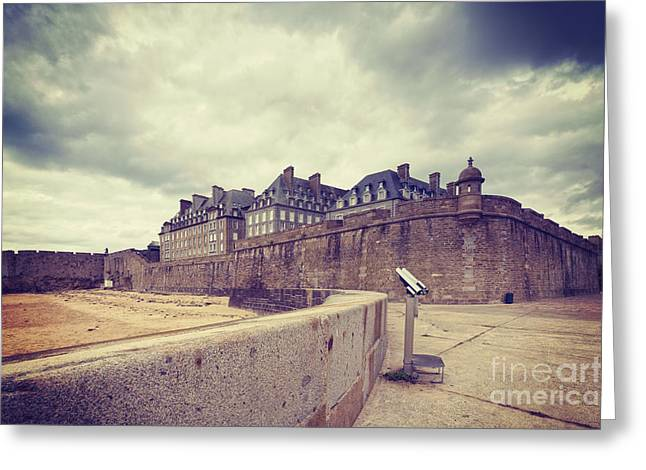 Saint-malo Brittany France Greeting Card