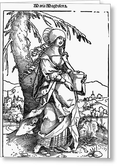 Saint Mary Magdalene Greeting Card by Granger