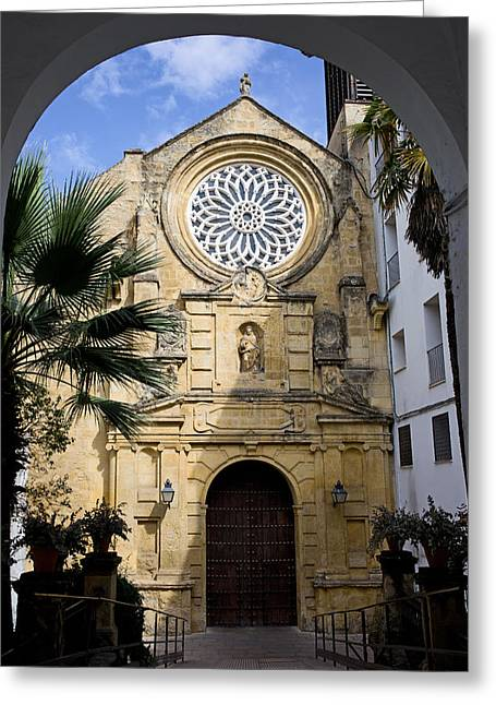 Saint Paul Church In Cordoba Greeting Card by Artur Bogacki
