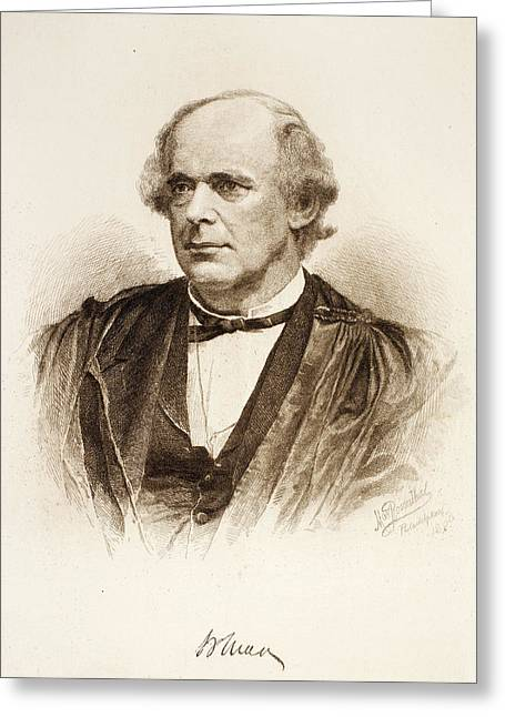 Salmon Portland Chase (1808-1873) Greeting Card by Granger