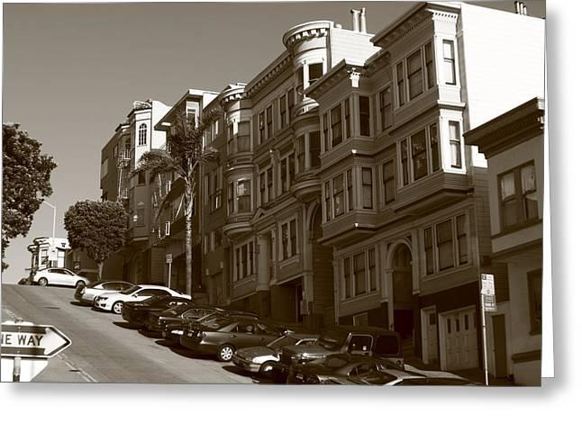 San Francisco Hills  Greeting Card