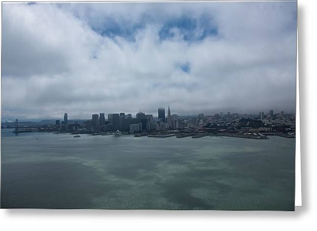 San Francisco Skyline Greeting Card by Steven Lapkin